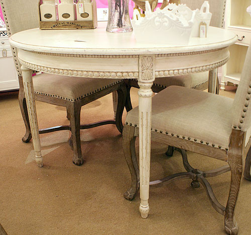 Ivory French Dining Table