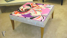 Luxury Coffee table Glasstop, The Belgravia