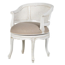 Chateau Rattan Bedroom Chair, White