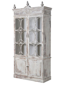Shabby Chic Distressed Bookcase