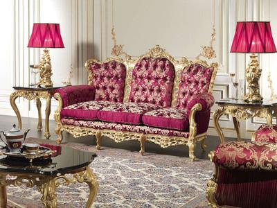 Baroque Living Room Furniture