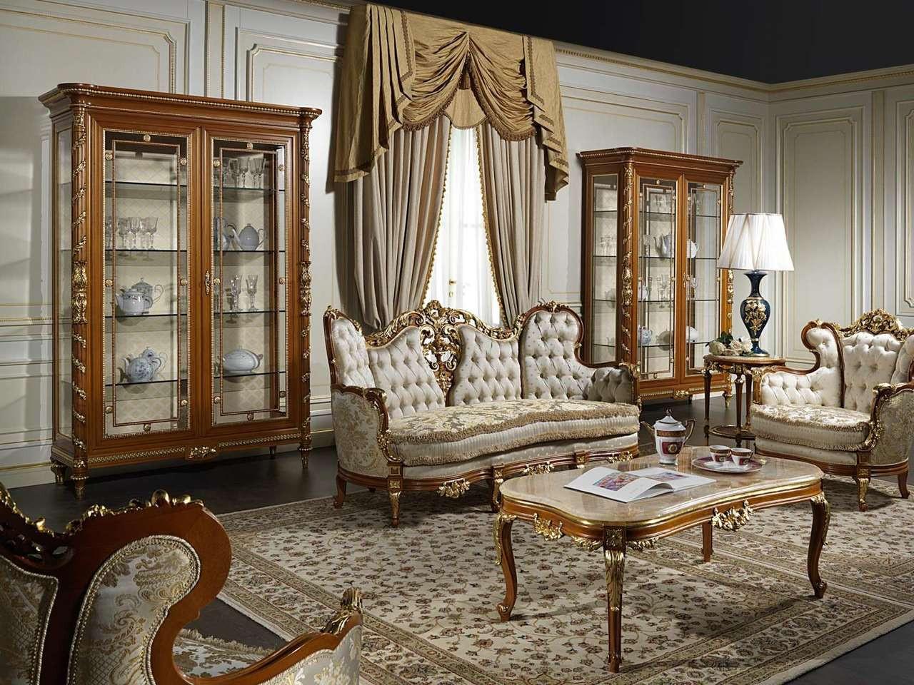 Luxury Classic Living Room Furniture