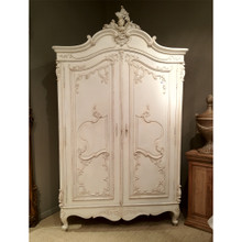 Marie Antoinette  Armoire, French Antique Ivory
