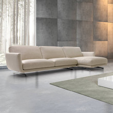 SLIM SECTIONAL SOFA WITH CHAISE