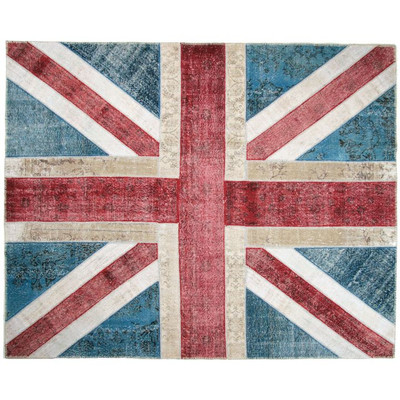 Union Jack Patchwork Rug By Kravet