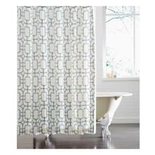 BAMBU FRET SHOWER CURTAIN