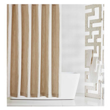 MADISON LINEN SHOWER CURTAIN, BEIGE