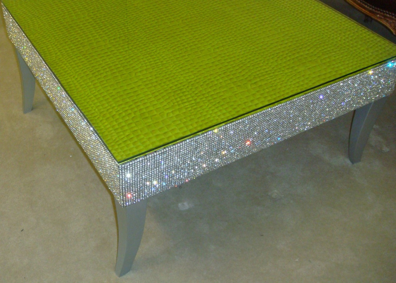 Crystal Coffee Table High End Coffee Table