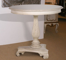 Chateau French Ivory Small Round Dining Table