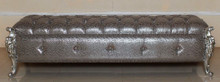 Hermes Baroque Tufted Bench