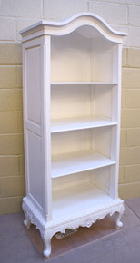 Chateau White Bookcase