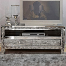 Venetian Mirrored TV Stand