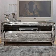 Venetian Mirrored TV Stand