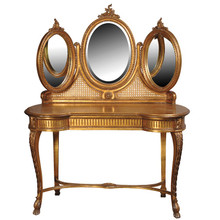Versailles Triple Mirror Dressing Table