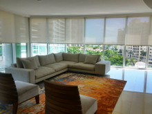 Roller shades for Living Room / Dining Room And Master Bedroom