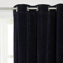 Velvet Curtains, Grommet Headed