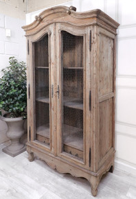 Chamonix Chicken Wire Armoire