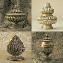 Wood Poles & Finials....French Collection