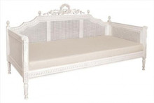 Josephine Daybed / Sofa. French Country White