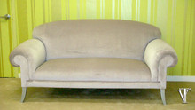 Custom Sofa, The Elgin Sofa.....Light Mauve Velvet by Rogers & Goffigon