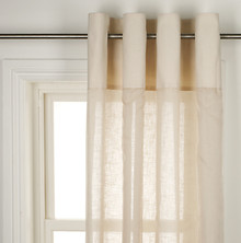 Sheer Curtains, Cream