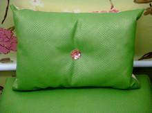 Boudior Throw Pillow, Snakeskin Throw Pillow, Green & Gold