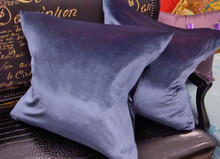 Velvet Throw Pillow Cover, 22 x 22