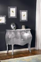 French Chest Silver leaf