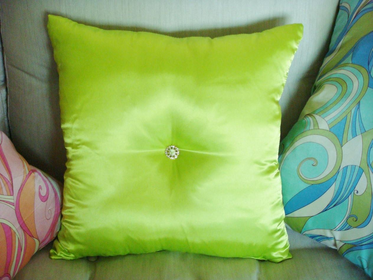 Luxury Throw Pillow Rhinestone Bling By Thundersley Home