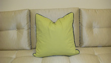 Modern Kiwi Throw Pillow