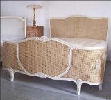 Classic Hand crafted Rattan Louis XV