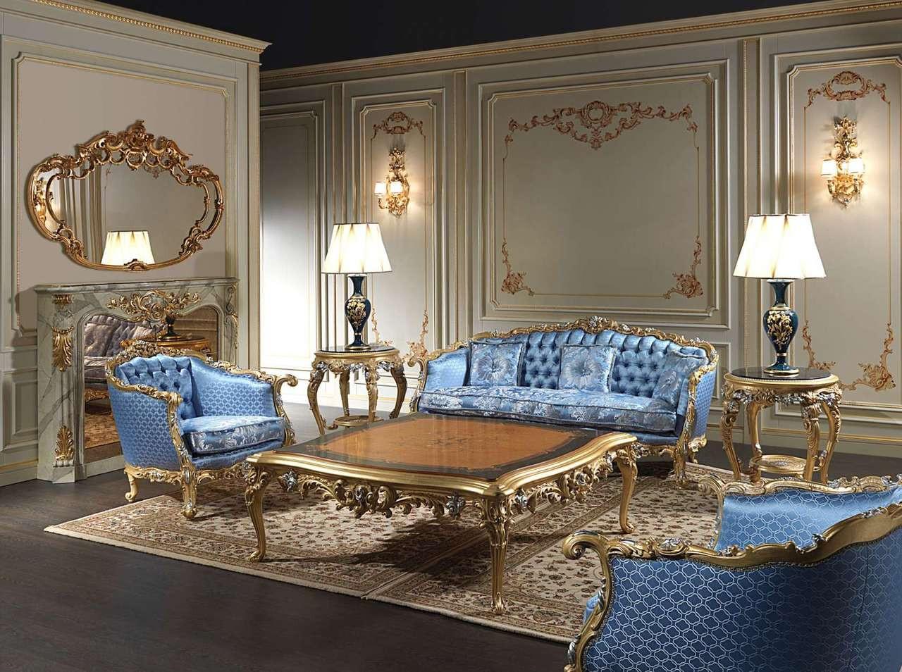 Living Room Set, Louis XVI Sofas & Chairs