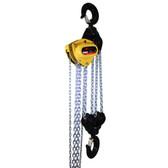 Ingersoll Rand KM750V-20-18 | 7 1/2 Ton Chain Hoist | Overload Brake
