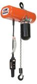 CM Lodestar 1 Ton Hoist | Model H | 20Ft. Lift | 8 FPM | No Upper Suspension | Part #3162