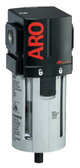 """ARO 2000 Series 3/8"""" Filter   F35331-400   Manual Drain   Polycarbonate Bowl w/ Guard   156 SCFM"""