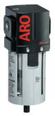 """ARO 2000 Series 1/2"""" Filter   F35342-300   Manual Drain   Polycarbonate Bowl w/ Guard   197 SCFM"""