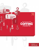 coffing air and electric chain hoist catalog thumbnail