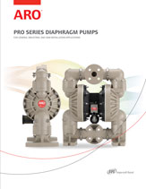 ingersoll rand ARO diaphragm pump pro catalog thumbnail