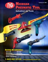 michigan pneumatic industrial tools catalog thumbnail
