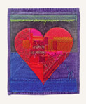 """Epson archival of fabric appliqué by Peter Good.  2020 Special open edition  16"""" x 20""""   Unframed"""