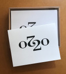 Box of ten A-2 sized cards with envelopes. Designed and printed in our home studio.