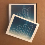 """2021 """"Take a Deep Breath"""" Note Cards Box of ten A-2 sized cards with envelopes. Designed and printed in our home studio."""