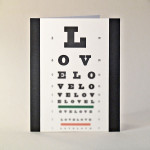 Blind Love Note Cards