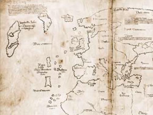 Vinland Map High Resolution Vinland, First Map of ...