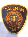 Tallman Fire Department Patch - Color