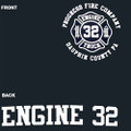 Progress Fire Company Engine Navy