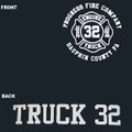 Progress Fire Company Truck Shirt - Sweatshirt