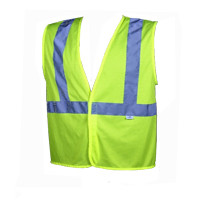 "Class 2 Safety Vest ""Hook & Loop"" 5 Pt Tear-Away"