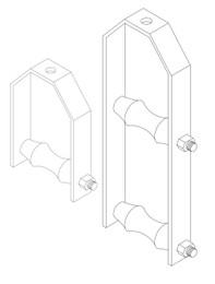 Adjustable Steel Yoke Pipe Roll