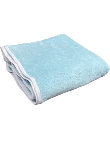 "DryDayz Baby Blue 42"" x 42"" Terry Towelling Adult Nappy Diaper ABDL Cotton Towel Washable Reusable Nappies"